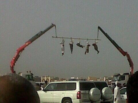 Egzekucja w Dżizanie w Arabii Saudyjskiej