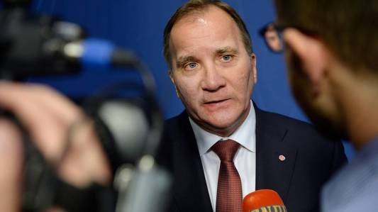 Premier Stefan Löfven zdjęcie - Socialanyheter