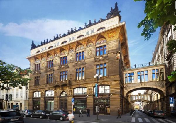 Prestiżowy gmach Živnobanka - europeskie centrum dowodzenia CEFC. Zdjęcie - Dnes