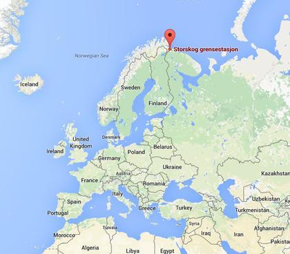 Północna trasa - przejście w Storskog. Zdjęcie - NRK