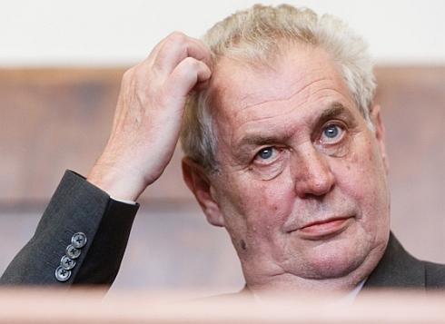 Prowokator Miloš Zeman. Zdjęcie - Lidove Noviny
