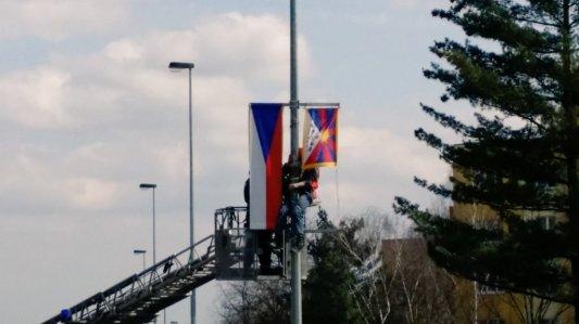 """Tybetański """"sabotaż"""". Zdjęcie pochodzi z ČR.cz"""