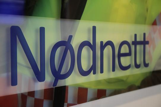 Logo sieci Nødnett. Nødnett.no